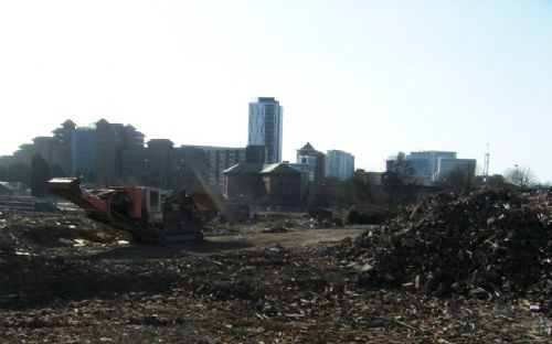 Click to view Salford Central Mission Demolition