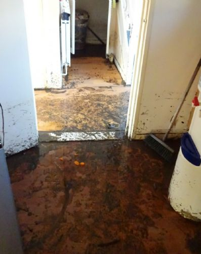 Click to view Salford Floods Clear Up Begins