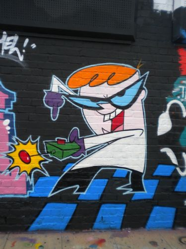 Click to view Salford Graffiti Palace Trashed