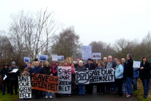 Click to view Barton Green Belt Protest Jan 2010