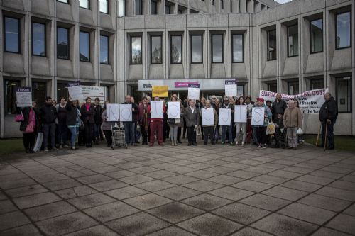 Click to view Salford Health Improvement Service Cuts Protest