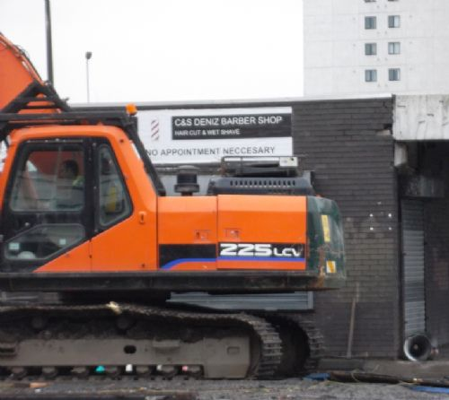 Click to view Salford Market Bulldozed Feb 2012