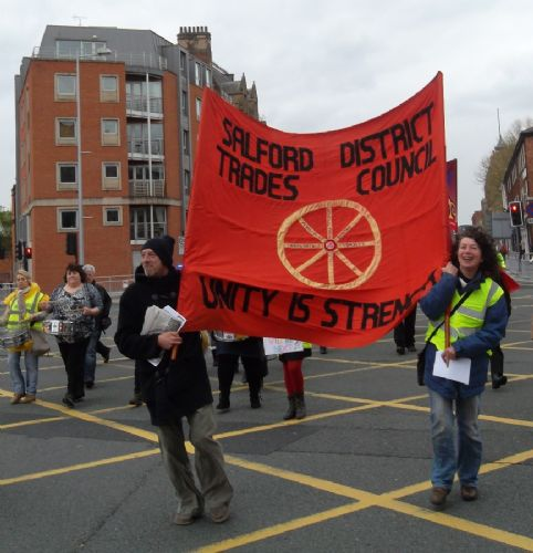 Click to view Salford May Day Rally 2012