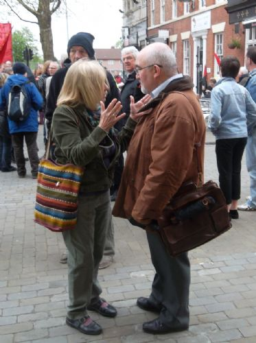 Click to view Salford Mayor Ian Stewart speaks at May Day Rally 2012