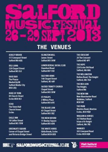 Click to view Salford Music Festival