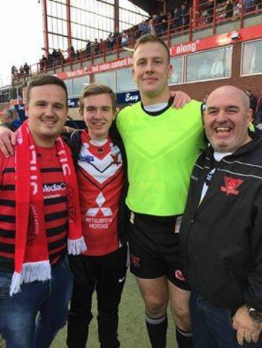 Click to view Salford Red Devils Stay Up