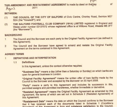 Click to view Salford Reds Contract with Salford Council