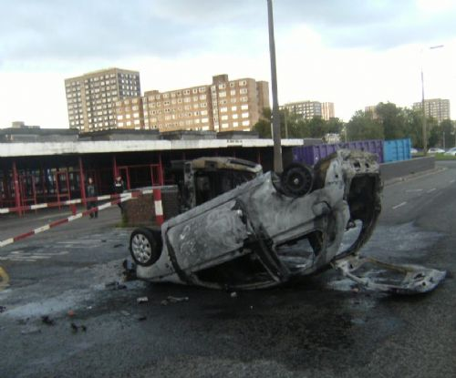 Click to view BBC RADIO MANCHESTER CAR TORCHED