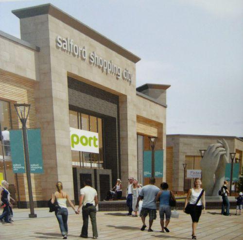 Salford City: NEW SALFORD PRECINCT PLANS UNVEILED