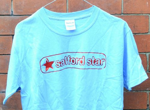 Click to view Salford Star T-shirt