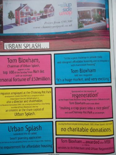 Click to view Salford Star Issue 2 Urban Splash Special
