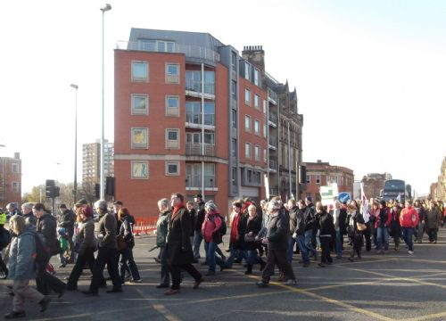 Click to view November 30th demo Salford