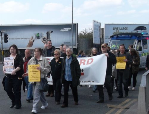 Click to view Salford Marches Against The Bedroom Tax
