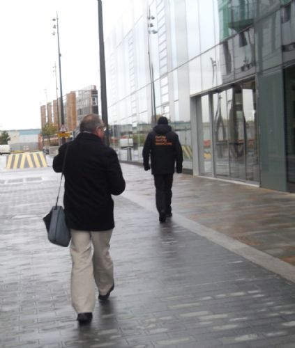 Click to view Salford Election Candidate Ejected From Media City