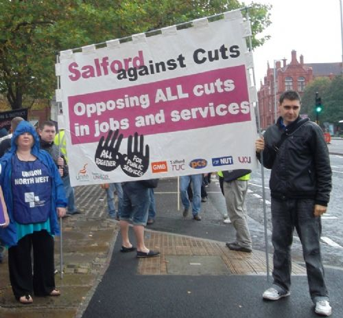Salford City Programme Gainsborough: SALFORD PEOPLE TO LOBBY LABOUR COUNCILLORS AGAINST ATTACKS
