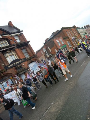 Click to view Salford Marches Against Tories