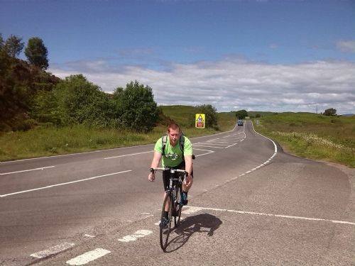 Click to view Salford4Good John O'Groats to Lands End Cycle Ride