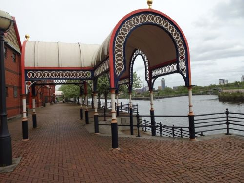 Click to view Salford Council Battles Peel Holdings over Ordsall riverside path