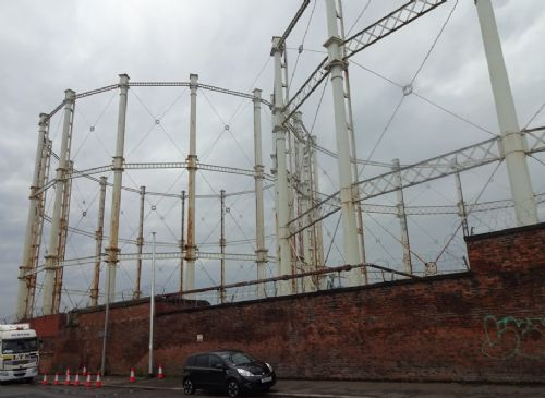Click to view Dirty Old Town Gasworks Demolition Begins in Salford