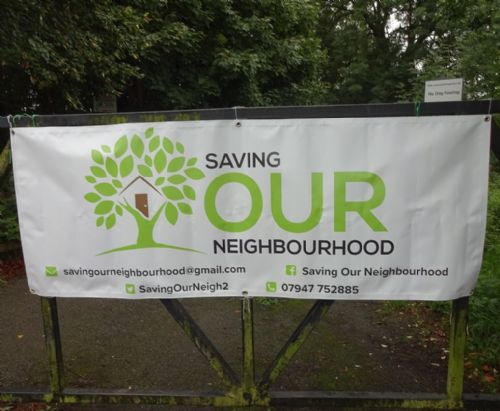 Click to view Salford Residents Protest Against Rampant Development