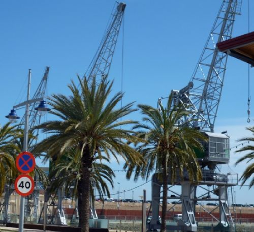 Click to view Spain Cranes