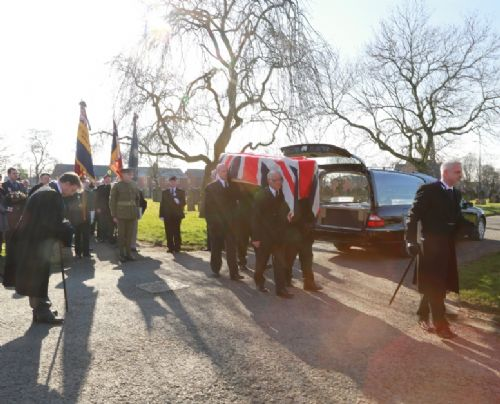 Click to view Swinton Cemetery Re-burial for Private Blears