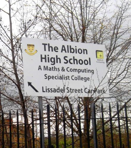 Click to view Albion High School Salford