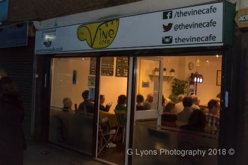 Click to view The Vine Cafe Comedy Night Salford