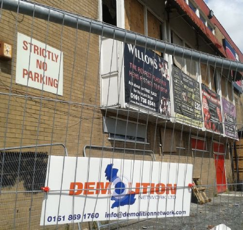 Click to view The Willows Demolition 2012