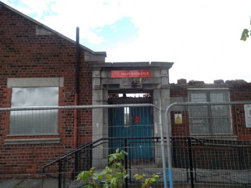 Click to view Tootal Drive Primary School Salford Demolished