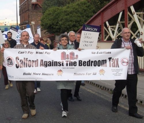 Click to view Salford Against The Bedroom Tax