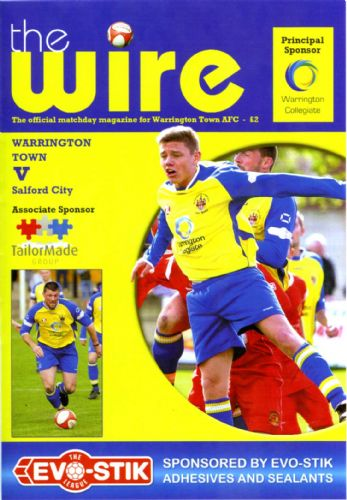 Click to view Warrington Town 1 Salford City 2