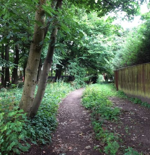Click to view Worsley Footpath Salford