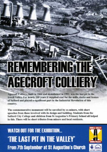Click to view Agecroft Colliery Memorial Salford