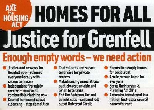 Click to view Salford Justice For Grenfell Meeting