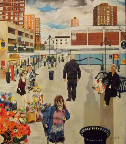Click to view Salford Artist Nigel Walker Tourist In Your Own City