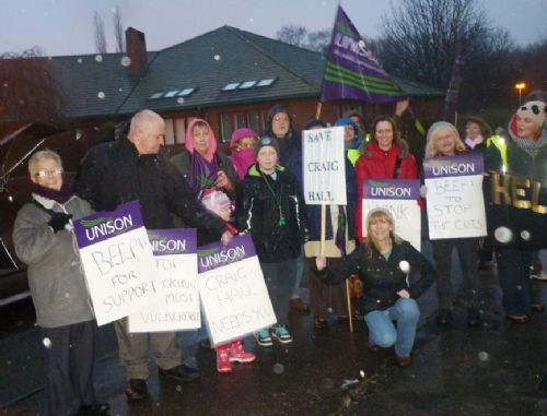 Click to view Campaigners Against Craig Hall Closure