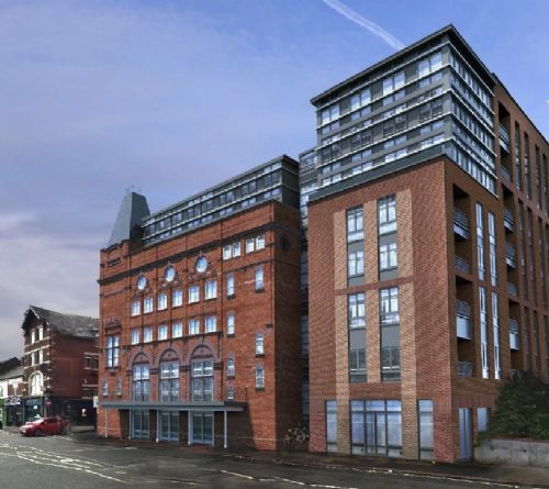 Click to view Crown Theatre Eccles Proposed Conversion