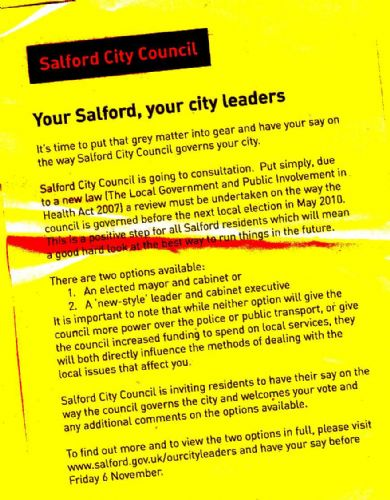 Click to view Salford' Elected Mayor