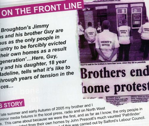 Click to view The Griffiths brothers evicted from Higher Broughton