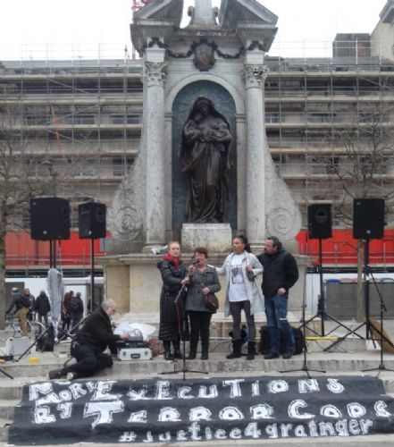 Click to view Justice4Grainger Piccadilly Gardens March 2013