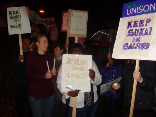Click to view Keep Sukai In Salford Demo 2009