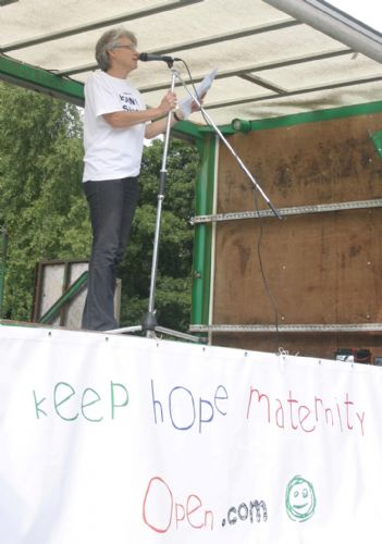 Click to view Keep Hope Maternity Open Rally