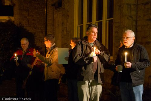 Click to view Save Lancaster House Candlelit Vigil