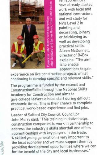 Click to view John Merry in Salford in Life magazine