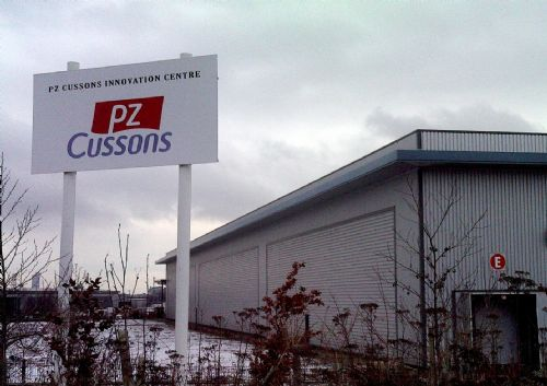 Click to view PZ Cussons Factory Kersal Salford