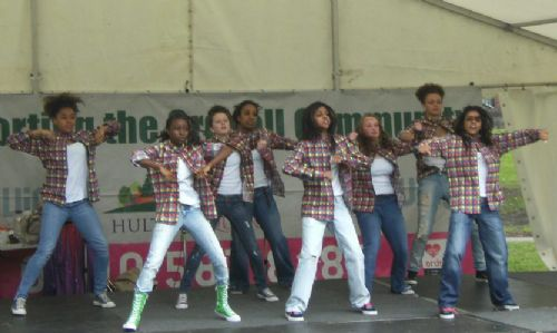 Click to view Company Fierce at Ordsall Festival