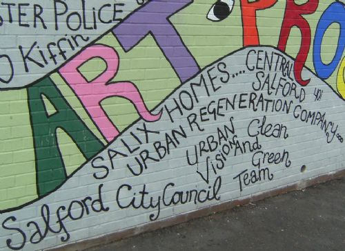 Click to view Ordsall Graffiti Palace