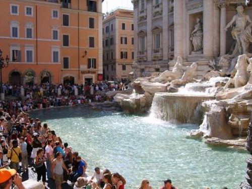 Click to view Trevi Fountain Rome