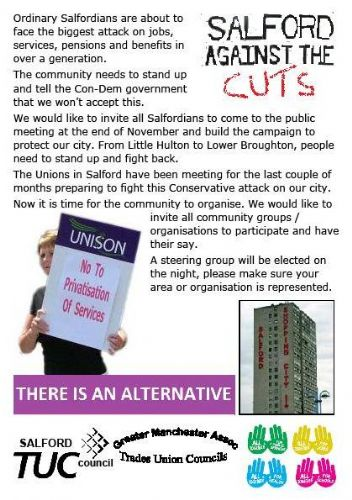 Click to view SALFORD AGAINST THE CUTS